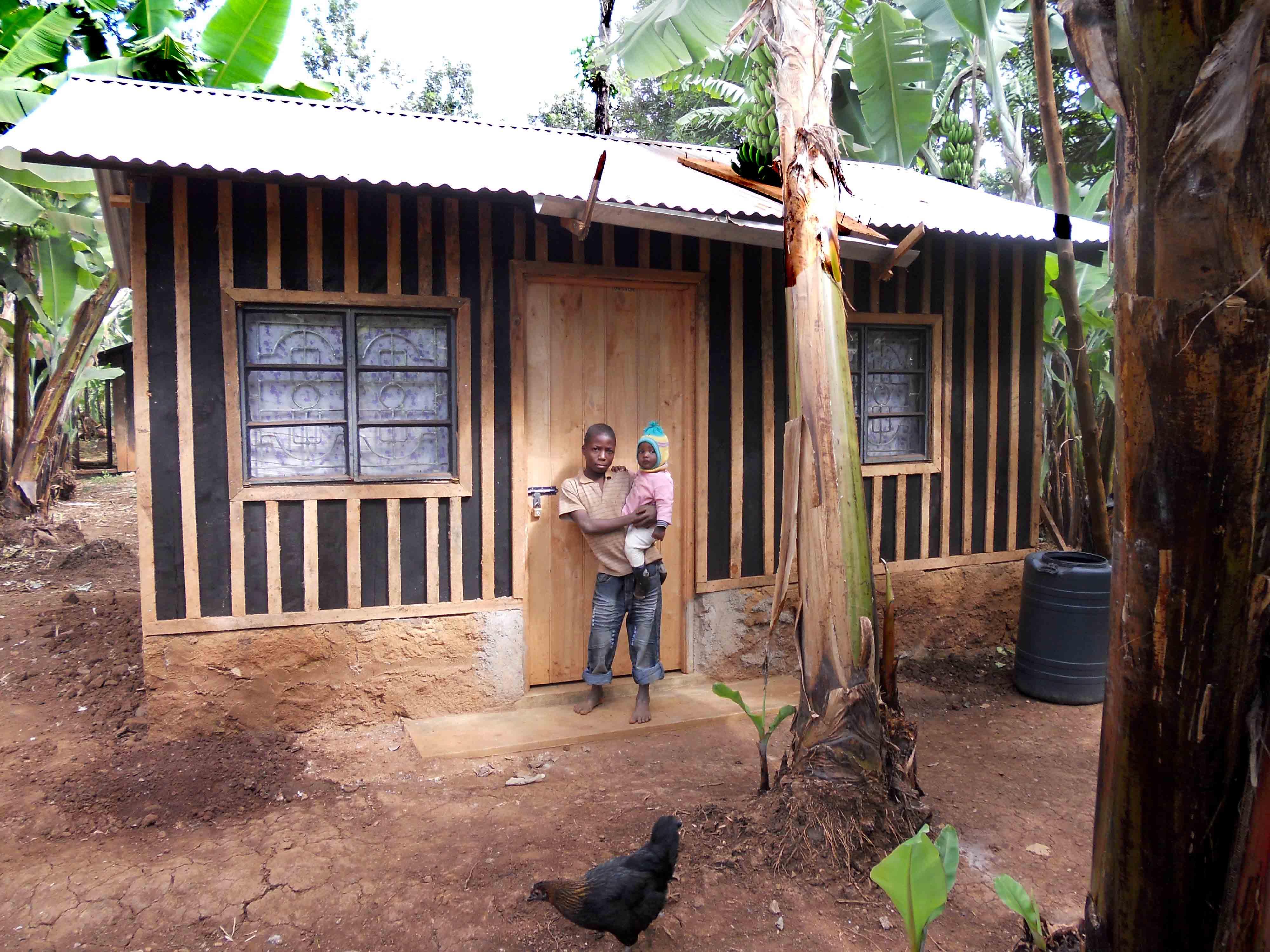 Progetti completati in kenya nel 2013 costruzione di tre - Costo donazione casa ...